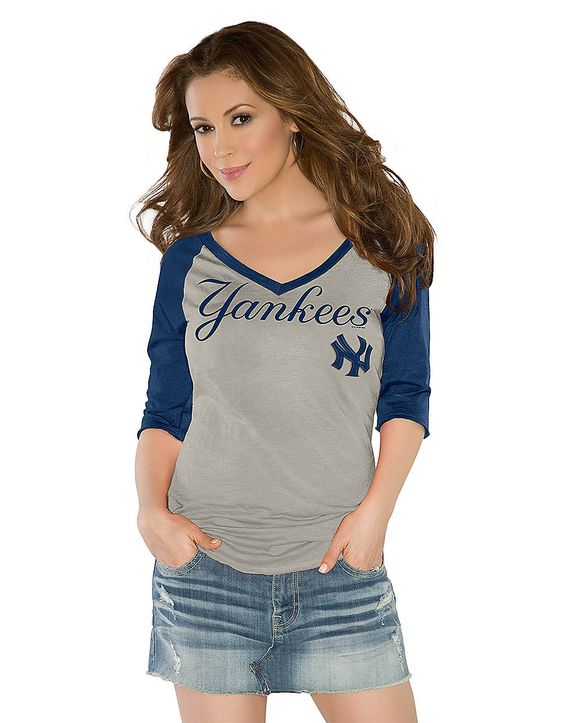 new york yankees touch by alyssa milano three quarter