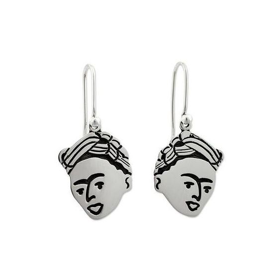 NOVICA Sterling silver dangle earrings ($54) ❤ liked on Polyvore featuring jewelry, earrings, dangle, sterling silver, earring jewelry, tri color earrings, novica, sterling silver dangle earrings and sterling silver jewelry
