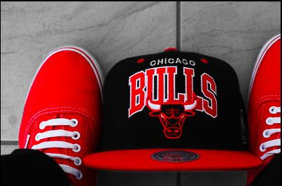 Chigago Bulls. The most important gift on the wishlist Jesse made for his birthday.