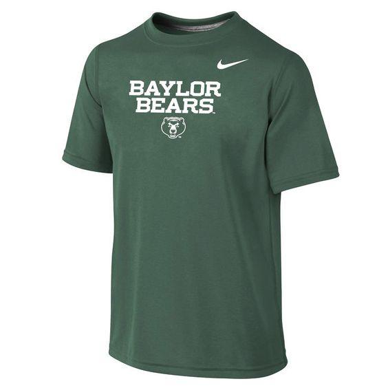 Baylor Bears Nike Youth Legend 2 Performance T-Shirt - Green - $20.79
