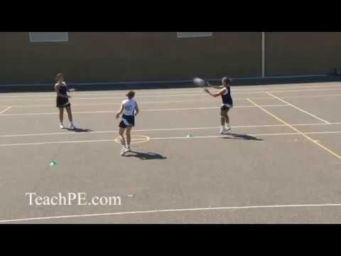 Netball Attacking Movement Double Dodge Youtube Netball Coaching Rebounding