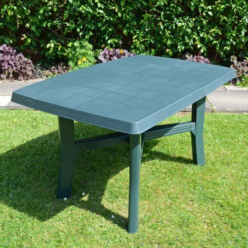 Huxley Plastic Dining Table Sol 72 Outdoor Dining Table Table