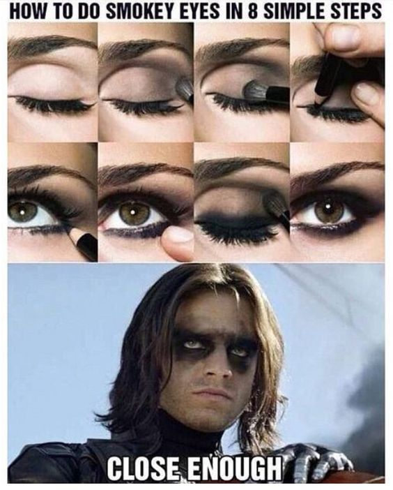 Image result for how to do a smokey eye in 8 simple steps