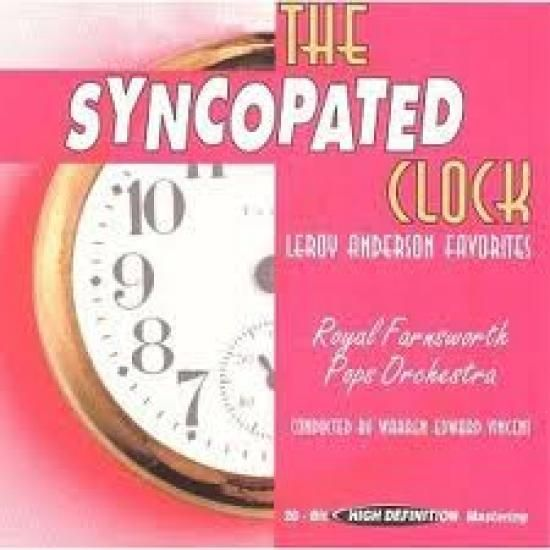 Infographic: The Syncopated Clock created by Anne Lyon