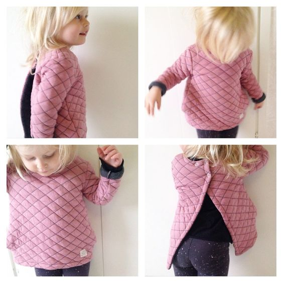 Gorgeous blush pink top from LuckyWe Sweeden. Little girls clothes at their best!