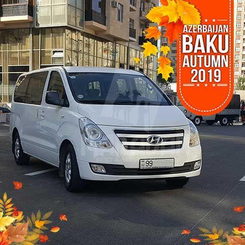 Minivan Hyundai H1 7 1 Today You Can Rent A Minivan Hyundai H1 7 1 At A Special Autumn Offer The Price Including Al Car Rental Car Rental Service Car