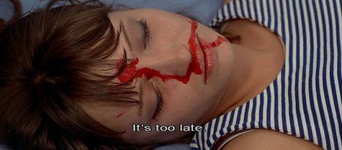 "nerdinlove: "" Pierrot le fou (1965, Jean-Luc Godard) """