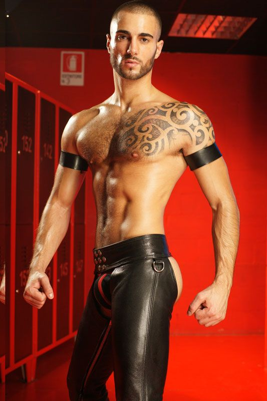 from Jeffery leather bicep band code gay