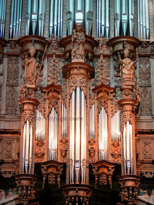 Organ of Cathédrale de Rodez ~ Aveyron, France