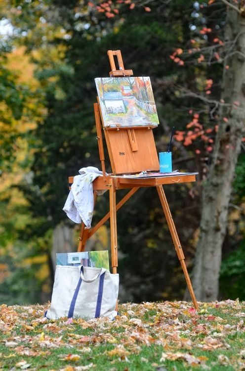 "I love mine, it reminds me of good times just seeing this picture. I later got a ""Monet"" with wheels and a telescoping handle so I don't have to carry the thing around and it's been PERFECT! Sentiment keeps the old one in the studio."