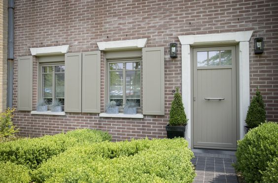 Projets de rénovation Fenêtres et portes Zendow Autentica - Oeil Pour Porte D Entree