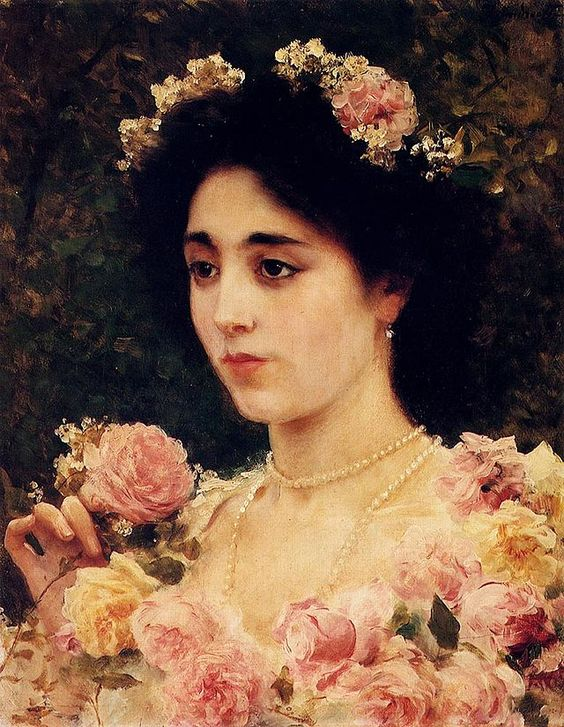 """The Pink Rose"". (by Federico Andreotti)."