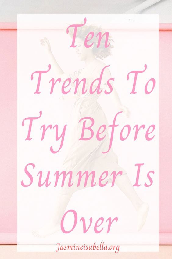 Ten trends to try before summer is over. Keen to try the fashion trends and styles we missed over lockdown? Here are ten trends to get you started and how to style them before the warm weather season is over. Make the most out of ss2020 with these fun and creative outfits and trends. #styleblog #summertrends #cottagecore #softgirlaesthetic