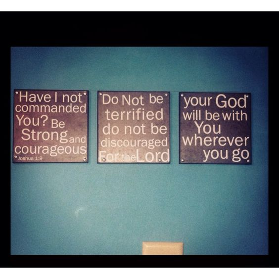 Bible Verse Wall Art for the home. Just hung mine, love it. Perfect reminder :)