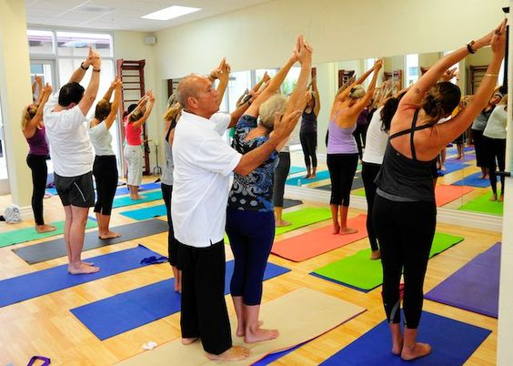 Yoga Classes in San Diego CA As well as Tai Chi  and karate instruction http://EvolutionInHealth.com