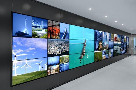 Stunning Videowall at Brookfield's New York HQ - Dataton WATCHPAX