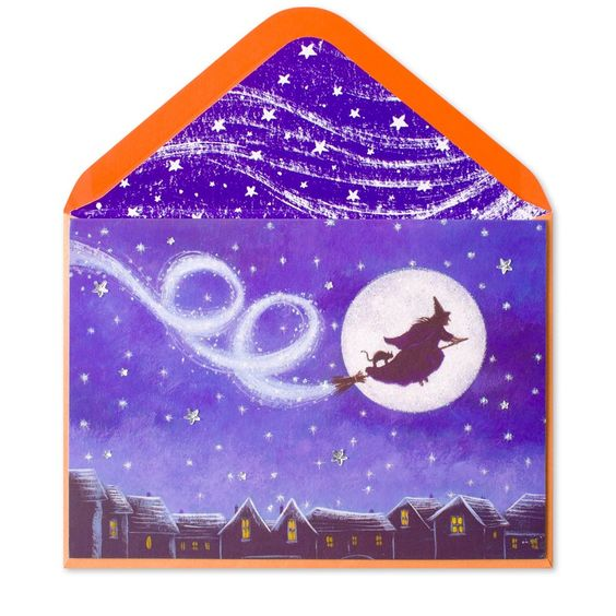 Magical Witch in Full Moon Price $5.95