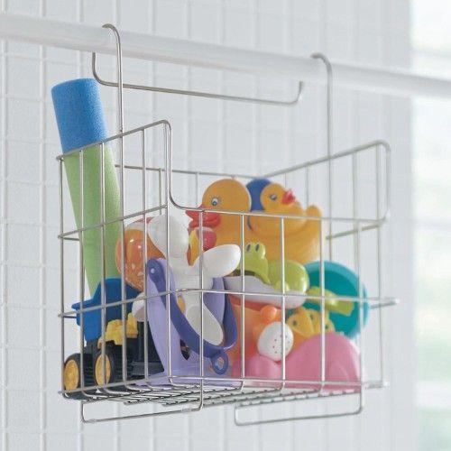 浴室乾燥機のバーに掛けてすっきり清潔に お風呂 おもちゃ 浴室 おもちゃ 収納 ベルメゾン
