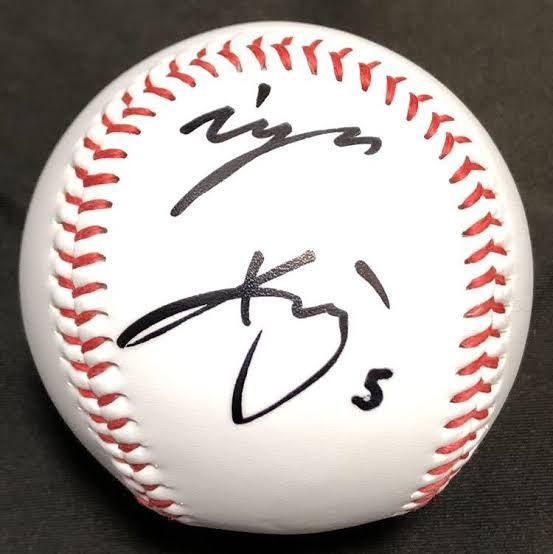 近本光司 サイン Google 検索 野球選手 サイン 選手
