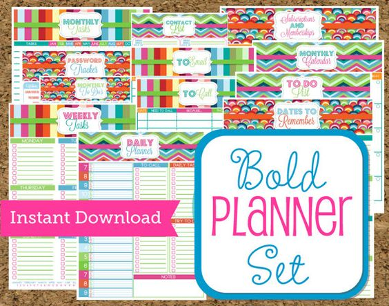 free printable business planners