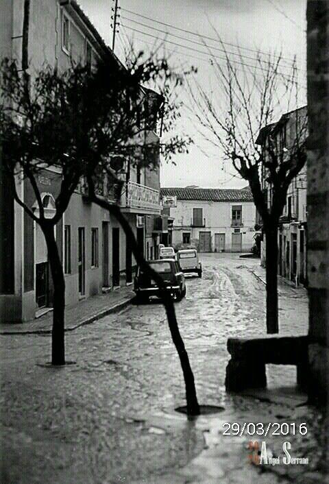 Calle de S.Agustín . Al fondo Placeta de Los Carros.