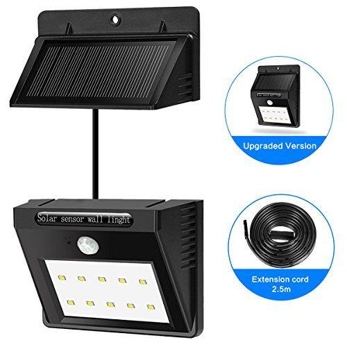 Hiluckey Solar LED Wall Lights Waterproof Motion Sensor S... https://www.amazon.com/dp/B01HGJG0U6/ref=cm_sw_r_pi_dp_x_r8AiybA53V6TA