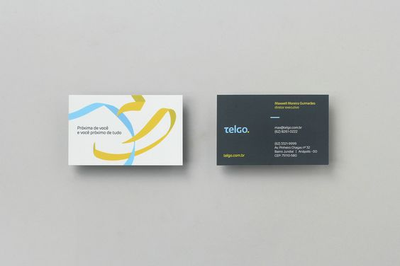 Noted: New Logo and Identity for Telgo by BR/BAUEN