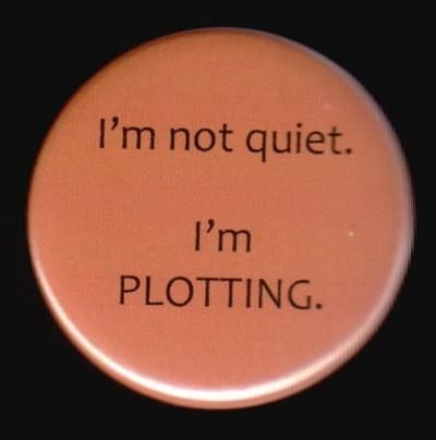 Very true. When I seem to be the quietest and the stillest, is when my mind is at its busiest.