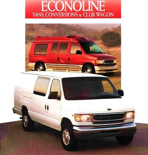 Advertisement Ebay 1997 Ford Econoline Van Club Wagon Brochure