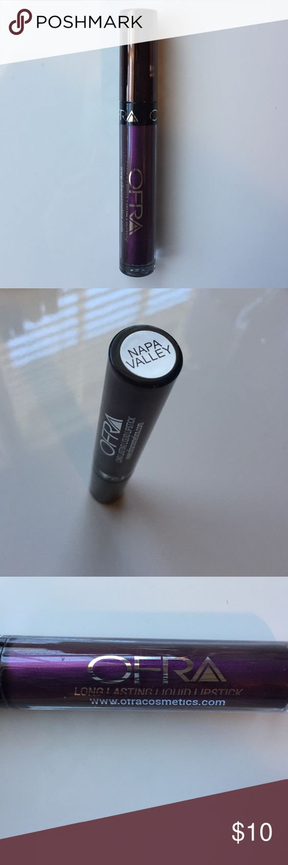 NEW Ofra Liquid Lipstick in Napa Valley BRAND NEW Ofra Liquid Lipstick in Napa Valley. Long Lasting Liquid Lipstick. Best liquid lipstick Formula on the market!! Ofra Makeup Lipstick