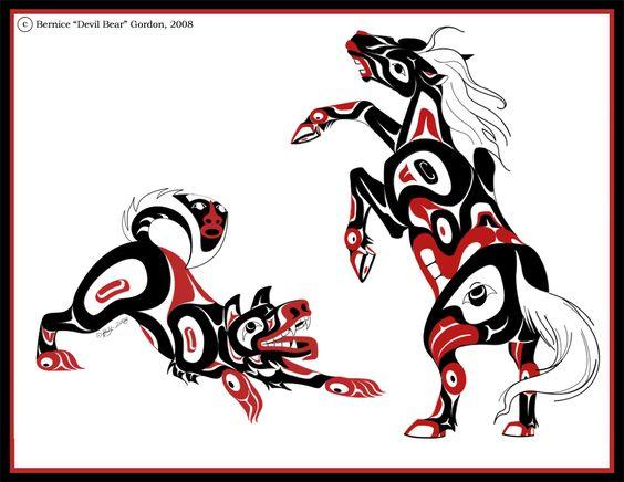 Horse and Dog by tarkheki.deviantart.com on @deviantART