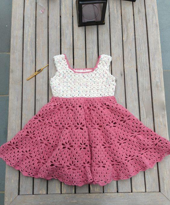 Little Girl&-39-s Vintage style Dress Free Pattern: Waist: 12&quot- Outside ...