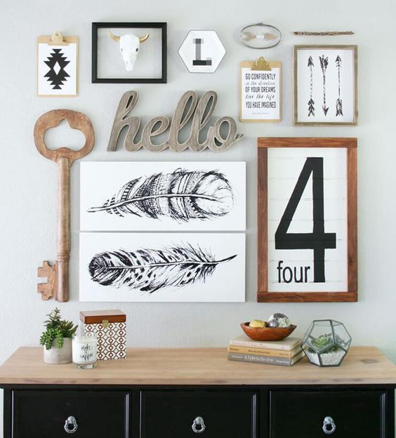 Coup de coeur pour la boutique en ligne l'Affiche Moderne : une bonne raison pour créer une composition murale jolie et originale !