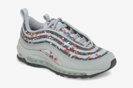 Swarovski Crystals Custom Nike Air Max 97 Shoes Embellished with Jet Black Swarovski Crystals, Free Domestic Shipping