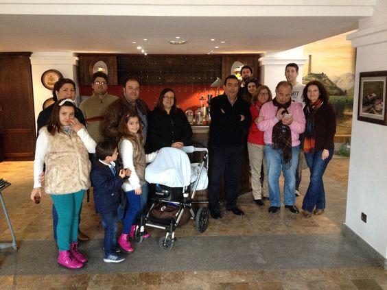 14/02/2014 Esta agradable familia nos visitó el día de San Valentín :)