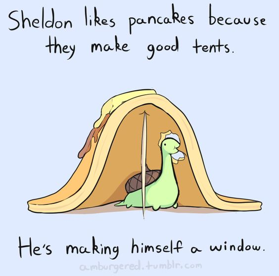 Sheldon the tiny dinosaur who thinks he's a turtle. His shell is an acorn. @Scott F Vintage Larson