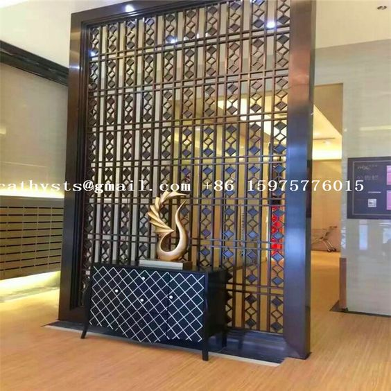 Wall Room Divider Laser Cut Screen Made In China By Decorative