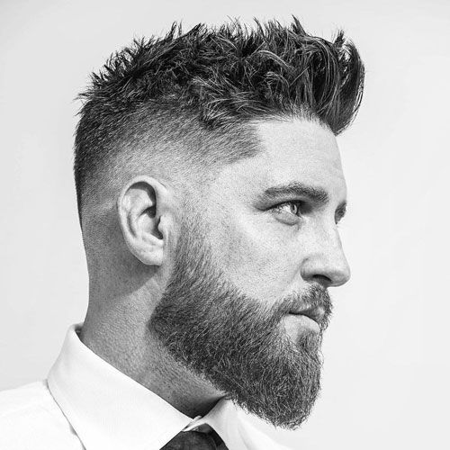 37 Messy Hairstyles For Men (2020 Guide) | Beard styles short, Mens  haircuts fade, Hair and beard styles