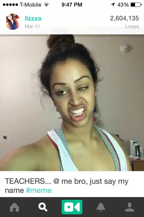 Lizzza From Vine Is So Freakin Funny She Had My Dying