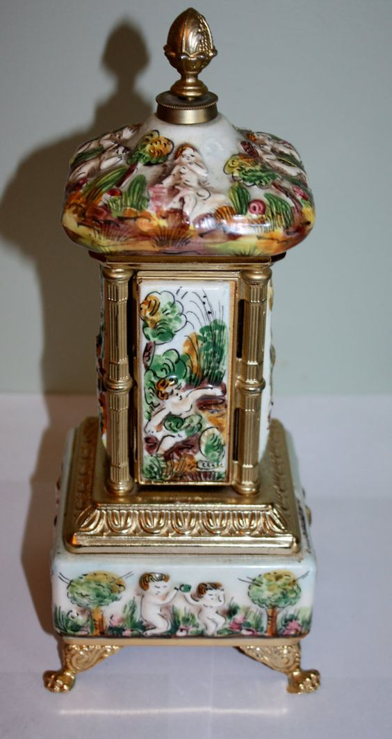 Vintage Capodimonte Musical Lipstick Cigarette Holder by patwatty, $120.00