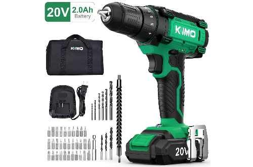 New Top 10 Best Cordless Drills Reviews In 2020 In 2020 Cordless Power Drill Cordless Drill Drill Set