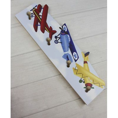 Toad and Lily Boys Airplane Cloth Rack