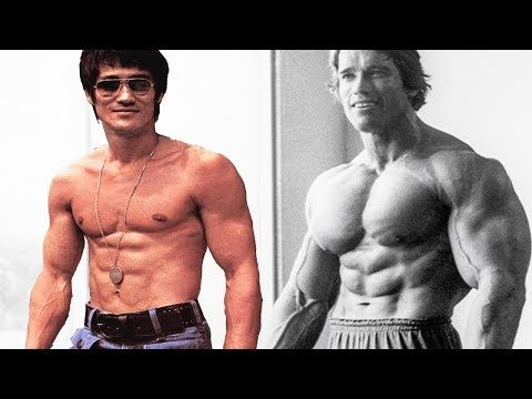 Arnold Schwarzenegger Explains How You Can Get A Body Like Bruce Lee Youtube Garotas De Biquini Exercicios Fisicos Abdominais Ginastica