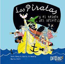 Apego, Literatura y Materiales respetuosos: SORTEO Las piratas y el tesoro del arcoíris - Ed. GatoSueco