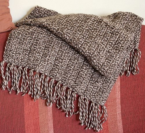 The Original Prayer Shawl - Knitting Pattern by Victoria Galo & Janet Bristow // Use any bulky yarn that appeals to you. Size US 11 (8 mm) or US 13 (9 mm) needles. Gauge unimportant, shawl fabric should have a nice drape.