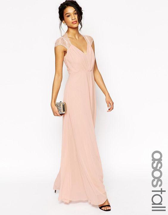 ASOS TALL - Kate - Maxi robe en dentelle chez ASOS mode femme fashion