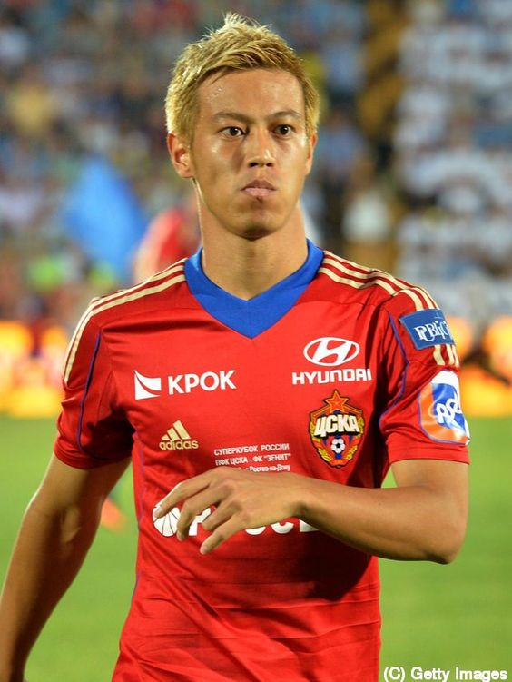 CSKAモスクワ,日本代表本田圭佑さん。