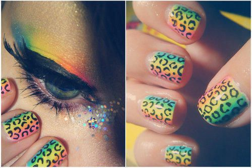 nails! love the eyes too!
