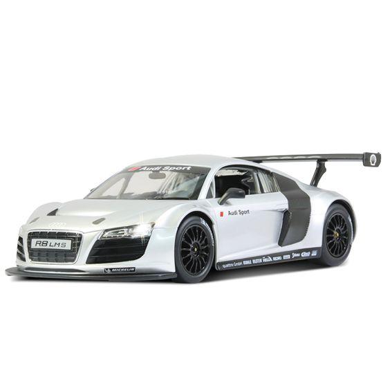 Du wolltest schon immer mal mit einem GT3-Rennwagen durch Deinen Block brettern? Na dann schnapp Dir diesen Audi R8 LMS und los geht's. Das fernges...