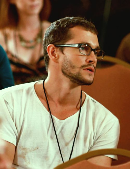 """A sexy sexy Hugh Dancy in """"Our Idiot Brother""""."""